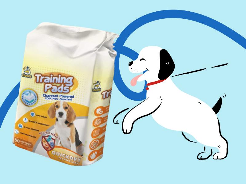 Vluvitt Premium Super Absorbent Puppy Training Pads